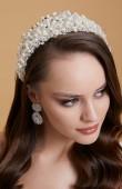 Gelin Zirkon Taşlı Saç Aksesuarları Saç Bandı Düğün Tasarım