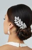 Zirkon Taşlı Saç Aksesuarları Modelleri Düğün Kına Nişan Gelin