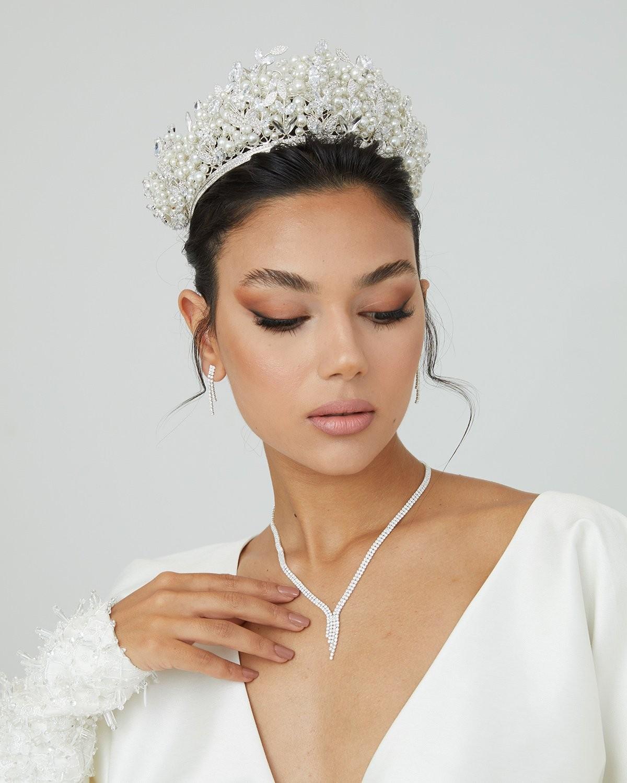 Gelin Tacı Modelleri Özel Tasarım Düğün Nişan