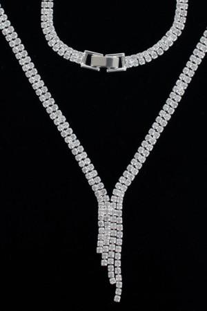 Kristal Set Kolye
