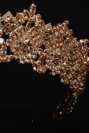 LaceD Bal Rengi Gold Kaplama Özel Tasarım