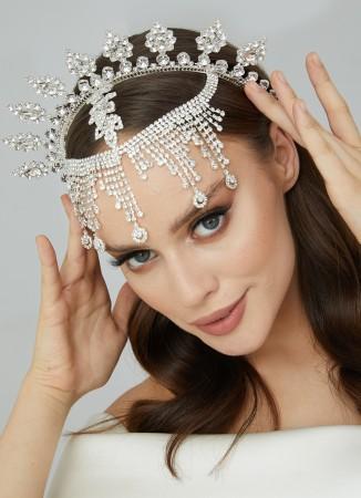 Gelin Kına Tacı Saç Aksesuarları Modelleri  Düğün Nişan