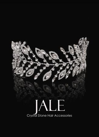 Kristal Taşlı Saç Aksesuarı Modelleri Düğün Kına Nişan Gelin