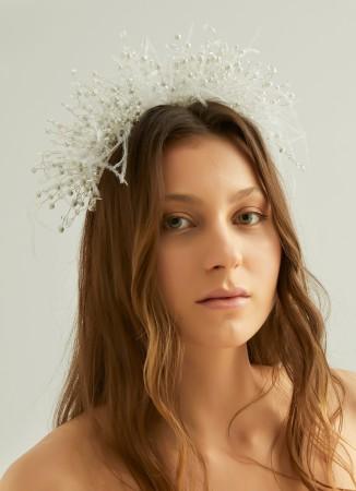 Kristal Boncuklu Saç Aksesuarları Modelleri Düğün Kına Nişan Gelin