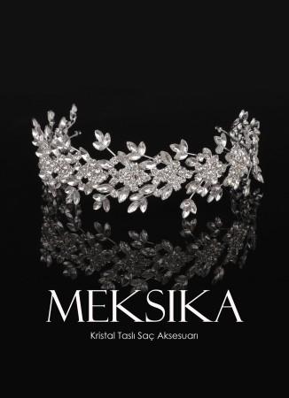 Kristal Taşlı Saç Aksesuarı Modelleri Tasarım Düğün Kına Nişan Gelin