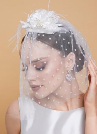 Nikah Kepi Şapkası Düğün Gelin Aksesuarı Nişan