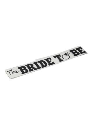 The Bride To Be Bekarlığa Veda Gelin Kuşağı