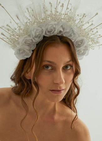 Gelin Kına Taç Saç Aksesuarları Modelleri Düğün Nişan