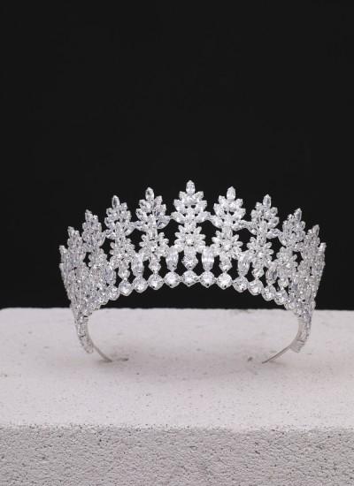 Bella Kristal Taş Gümüş Kaplama Özel Tasarım