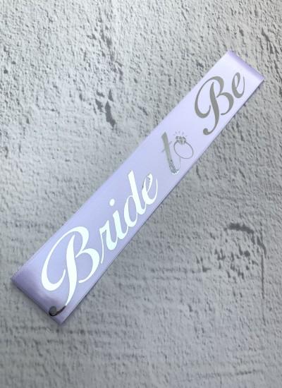 Bride To Be Gelin Kuşağı Beyaz