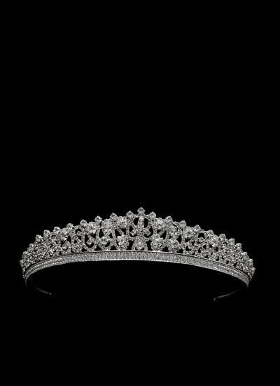 Diana Gümüş Kaplamalı Elmas Taş Rengi Özel Tasarım