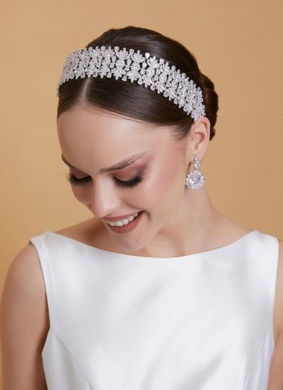 Zircon Stone Hair Accessory Models Hair Band Beaded Henna Wedding
