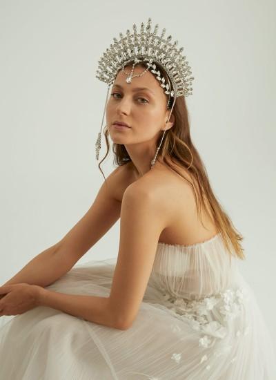 Bridal Henna Crown Hair Accessories Models Wedding Engagement