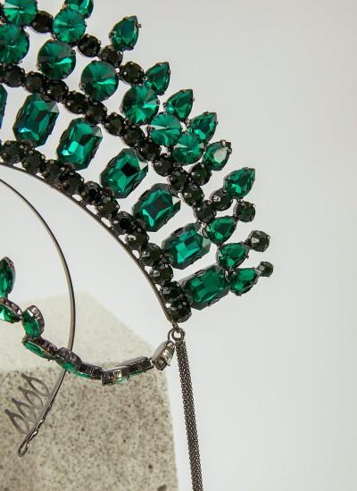Kleopatra Yeşil Kına Saç Aksesuarı