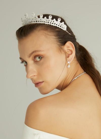 Bridal Crown Models Design Wedding Engagement