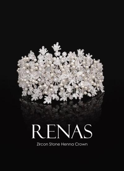 Zircon Stone Hair Accessories Models Design Wedding Henna Engagement Bride