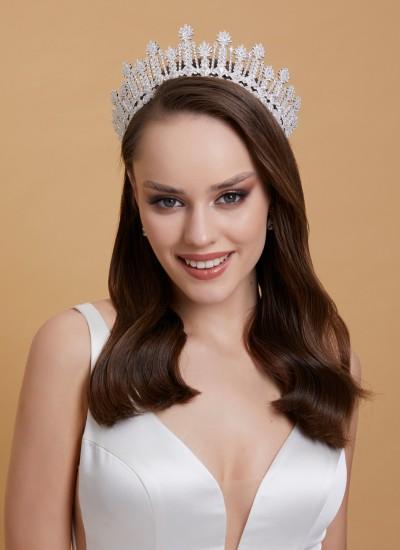 Bridal Crown Models Design Wedding Engagement Henna